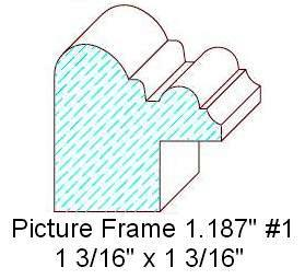 Picture Frame 1.187""